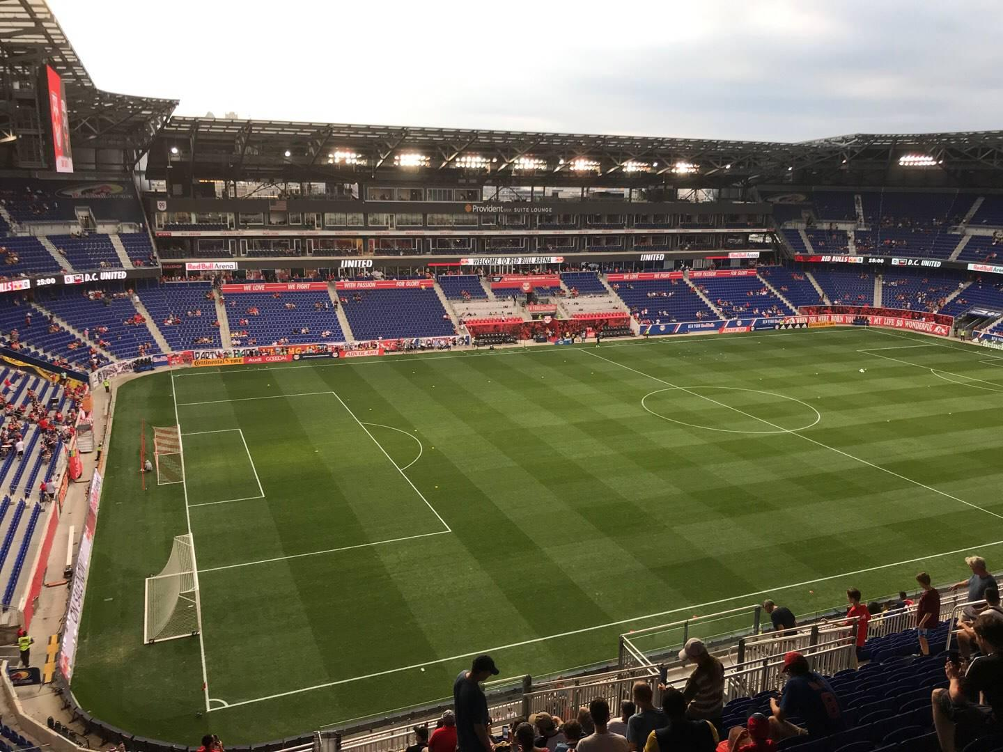 Red Bull Arena (New Jersey) Section 229 Rangée 20 Siège 21