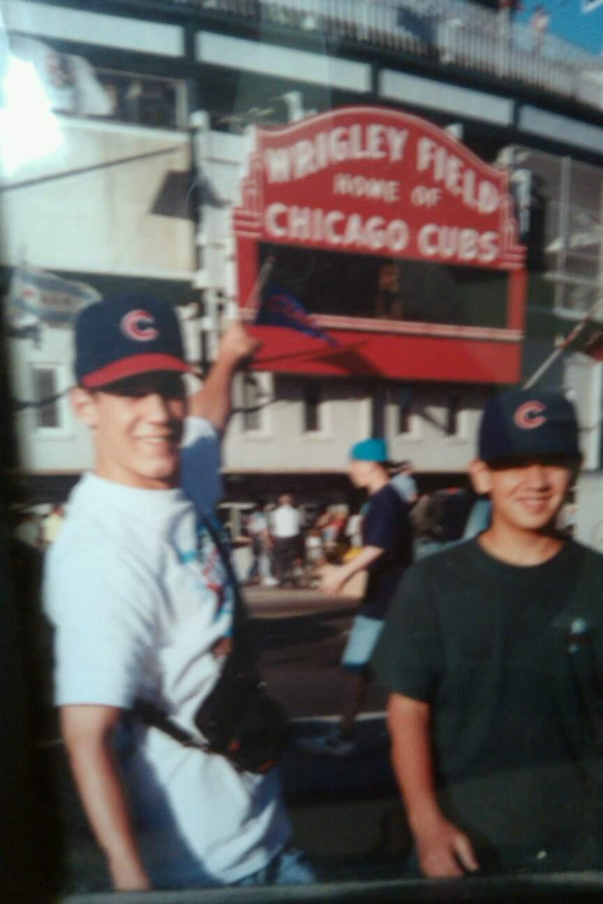 Wrigley Field Section Marquee Gate