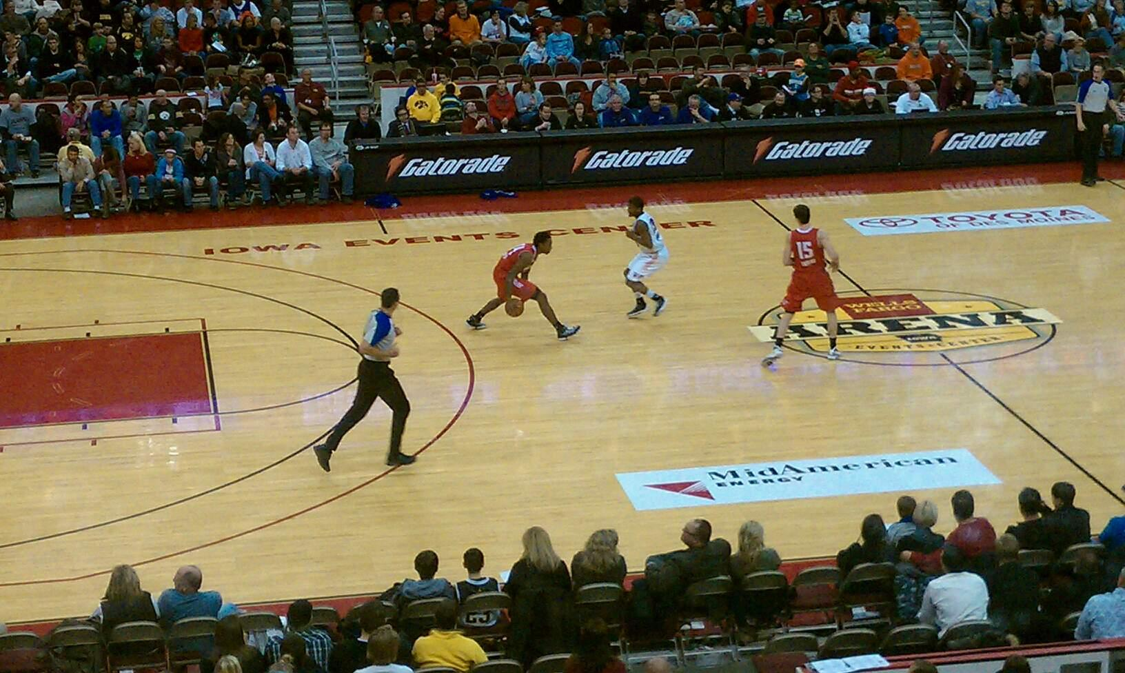 Wells Fargo Arena Section 320
