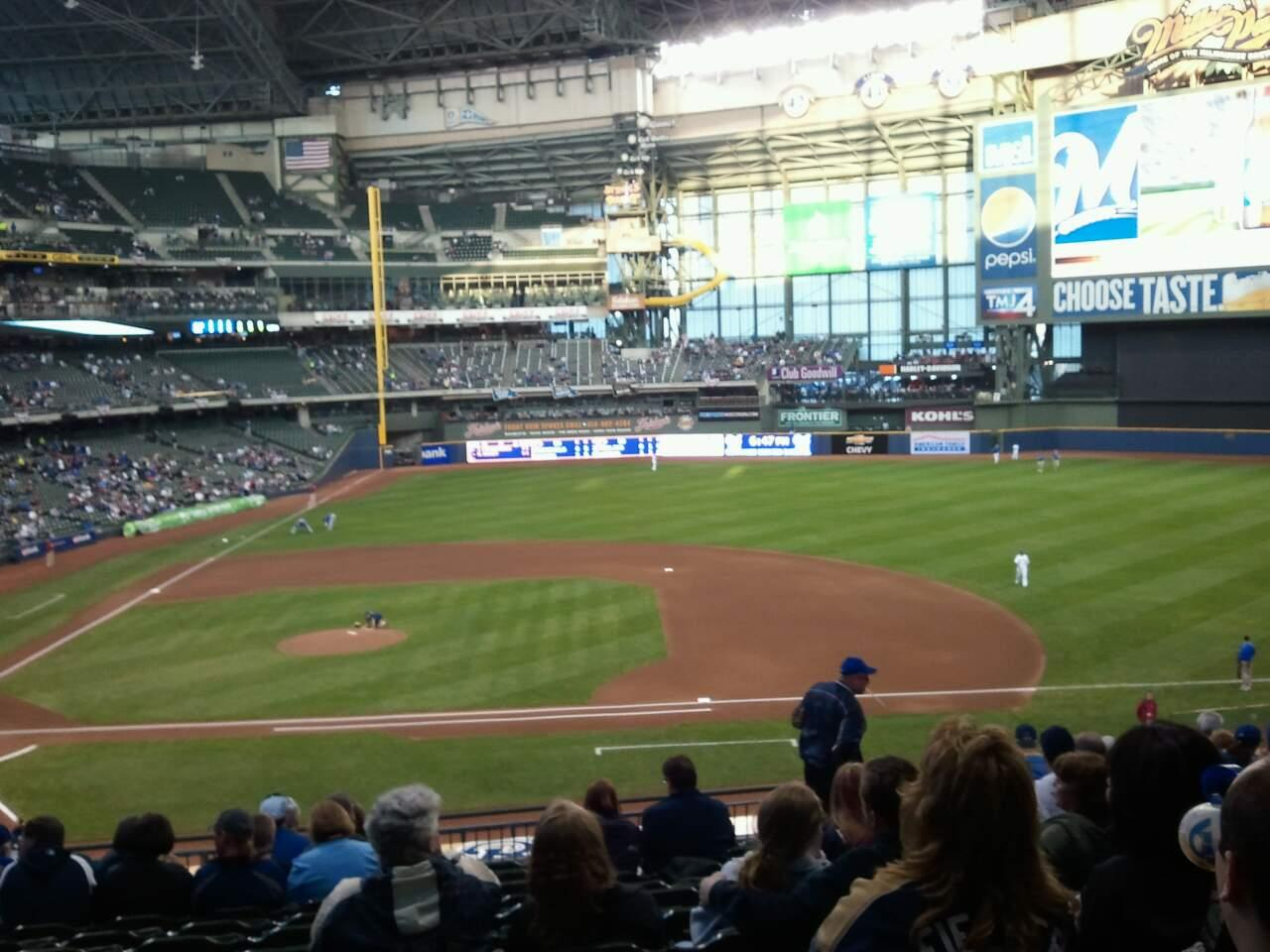 American Family Field Section 213