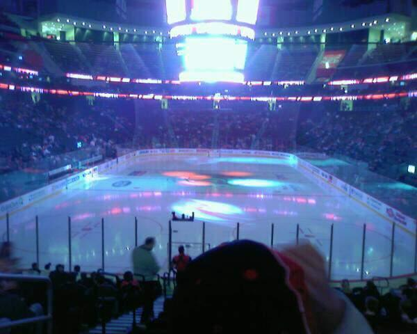 Prudential Center Section 14 Rangée 17