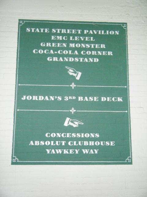 Fenway Park Section 3rd Base Deck