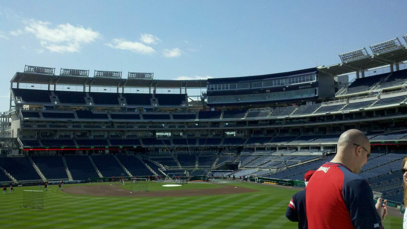 Nationals Park Section 102