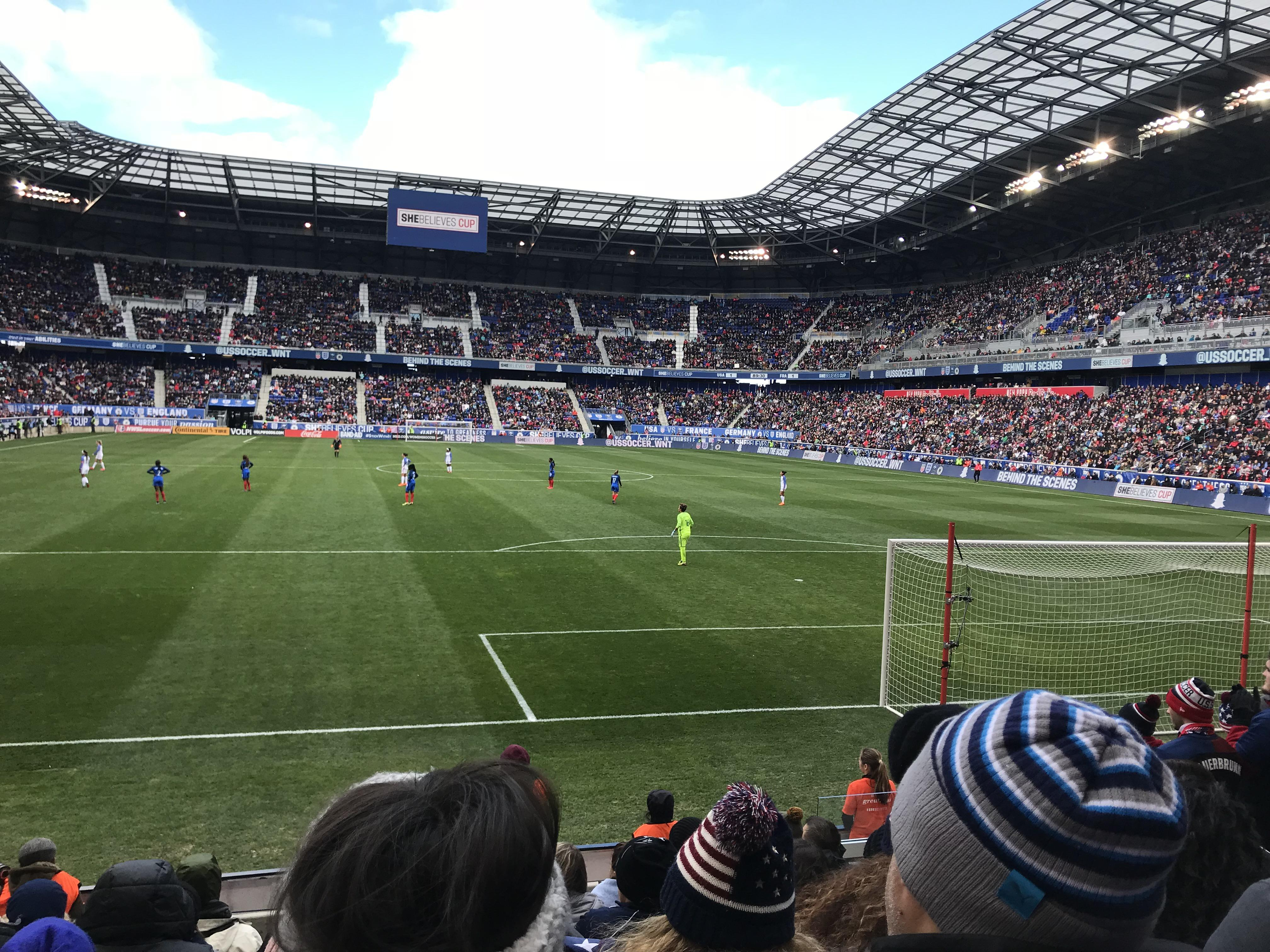 Red Bull Arena (New Jersey) Section 102 Rangée 7 Siège 6