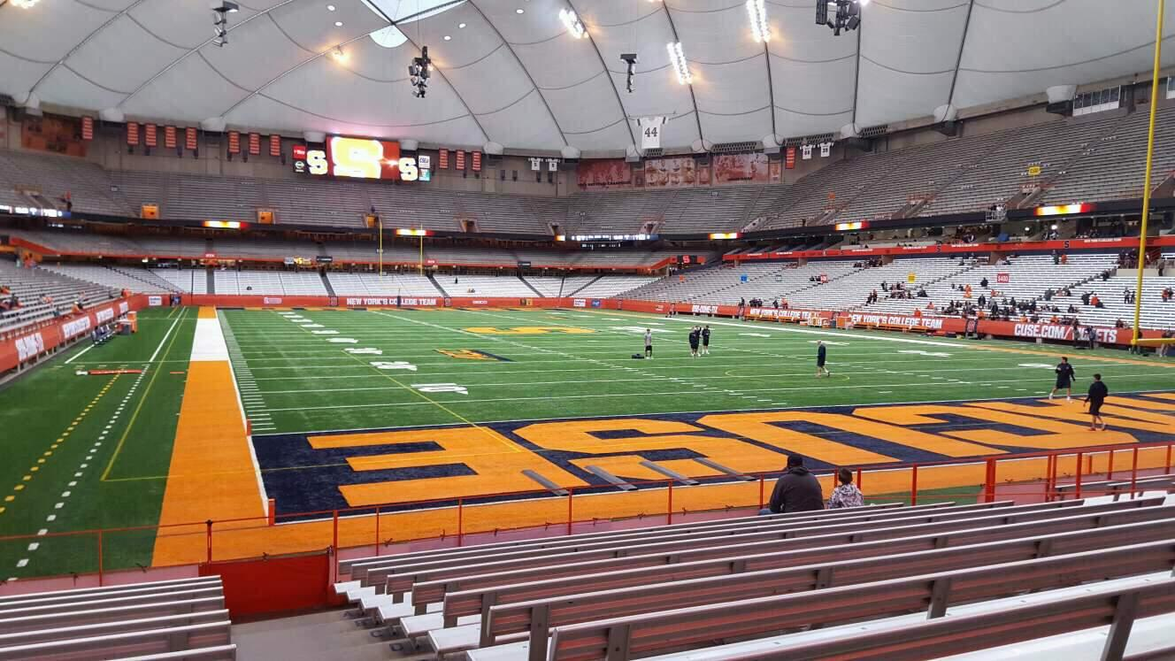 Carrier Dome Section 110 Rangée l Siège 1