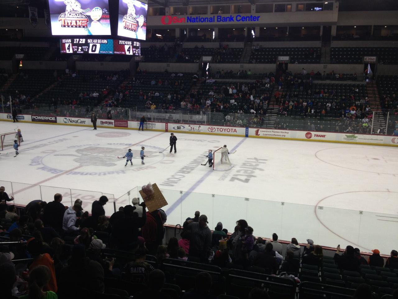Cure Insurance Arena Section 114