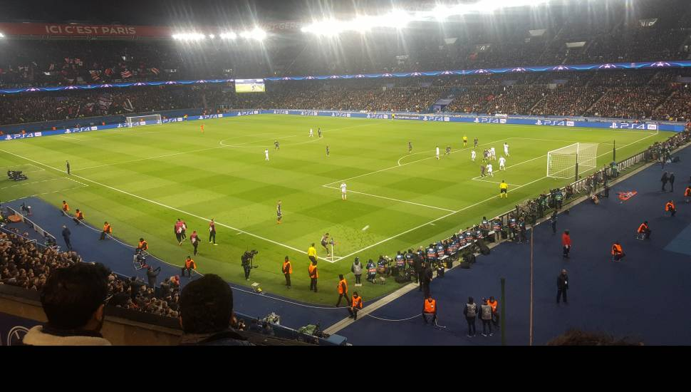 Parc des Princes,  Section <strong>Trib Borotra</strong>, Rangée <strong>Esc19 Rang13</strong>, Siège <strong>171</strong>