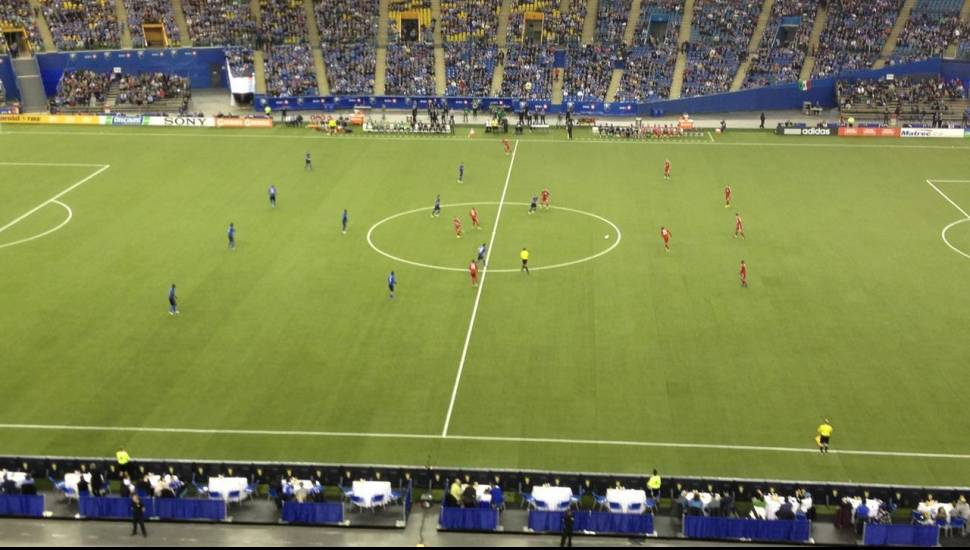 Olympic Stadium, Montreal,  Section <strong>123</strong>, Rangée <strong>Dd</strong>, Siège <strong>7</strong>