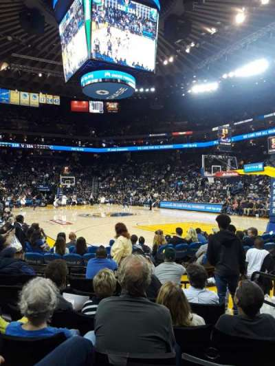 Oakland Arena section 110