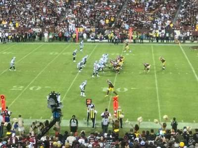 FedEx Field, section: 218, rangée: 12, siège: 24