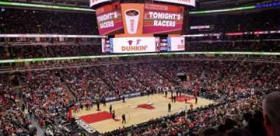 United Center section 220