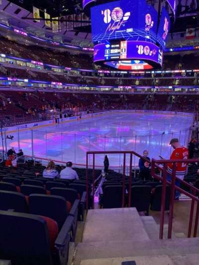United Center section 116