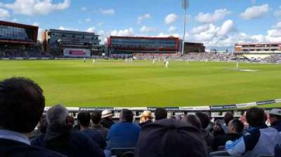 Old Trafford Cricket Ground, section: A6, rangée: 11, siège: 211