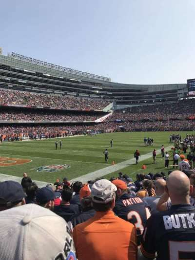 Soldier Field, section: 146, rangée: 11, siège: 8