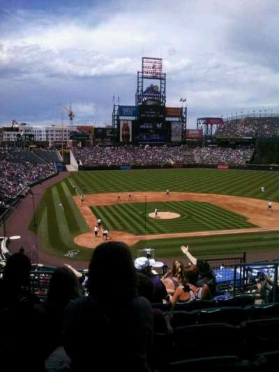 Coors Field section 227