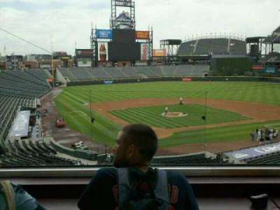 Coors Field section Press Box