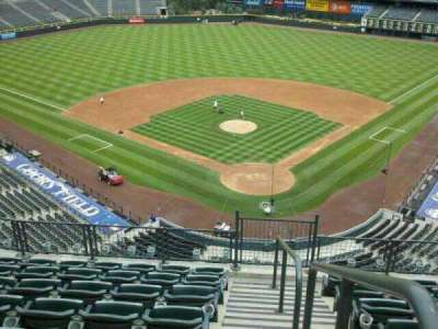 Coors Field section L332