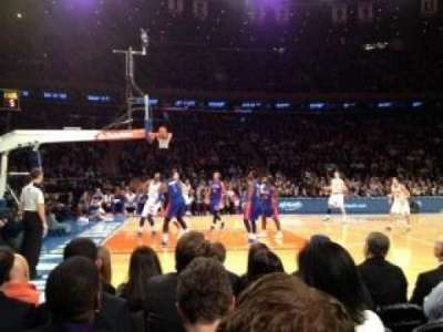 Madison Square Garden, section: 10, rangée: 3