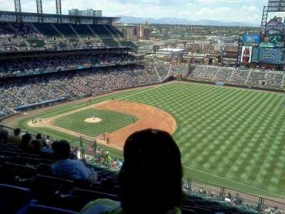 Coors Field section U317