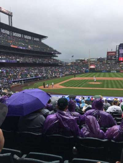 Coors Field section 124