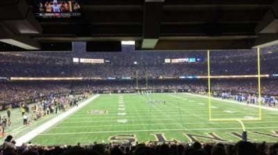 Mercedes-Benz Superdome, section: 113, rangée: 25, siège: 12