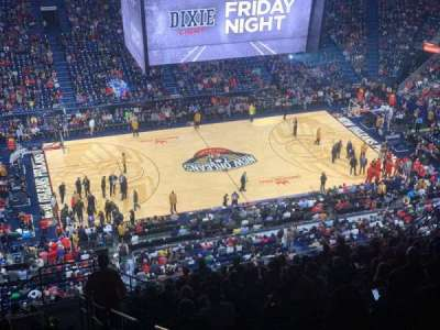 Smoothie King Center section 318