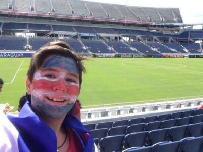 Camping World Stadium, section: 111, rangée: F, siège: 3