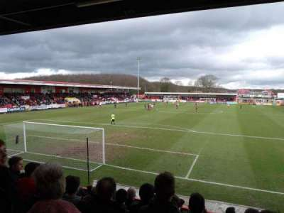 Broadhall Way, section: Away Stand B, rangée: K, siège: 32