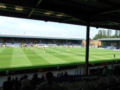 Gigg Lane, section: South Stand, rangée: T, siège: 54