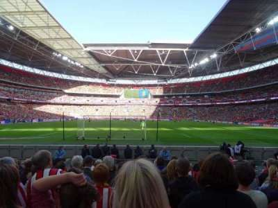 Wembley Stadium, section: 133, rangée: 9, siège: 314
