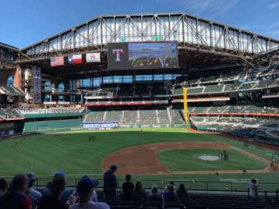 Globe Life Field section 108
