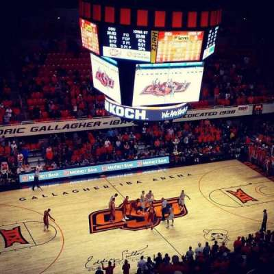 Gallagher-Iba Arena, section: 305, rangée: 11