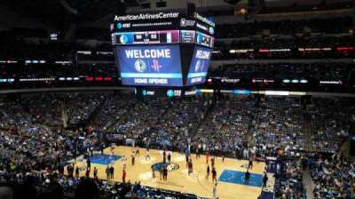 American Airlines Center, section: 216, rangée: F, siège: 5