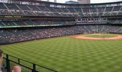 Coors Field section 202