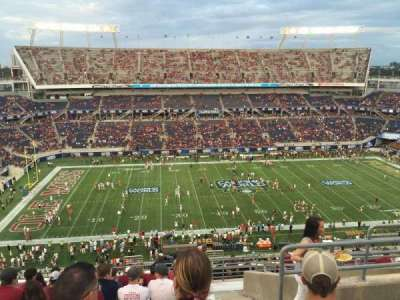 Camping World Stadium, section: 236, rangée: R, siège: 5