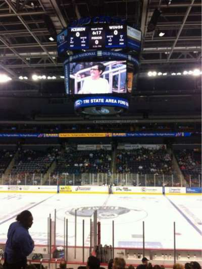 Ford Center (Indiana) section 105