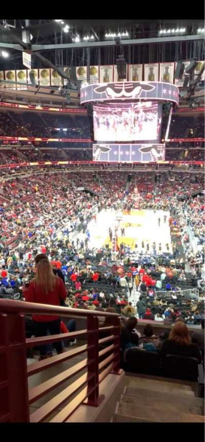 United Center section 225