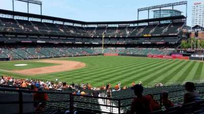 Oriole Park at Camden Yards, section: 9