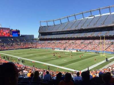 Empower Field at Mile High Stadium section 118