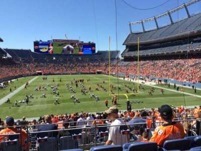 Empower Field at Mile High Stadium section 115