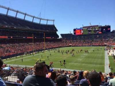 Empower Field at Mile High Stadium section 112