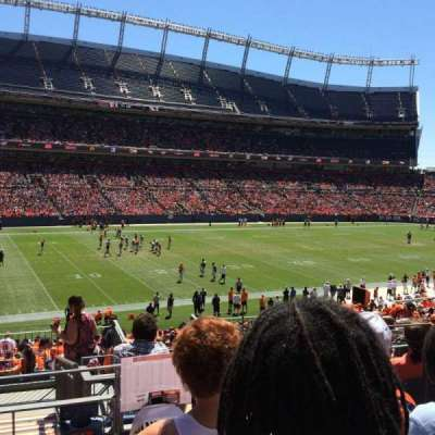 Empower Field at Mile High Stadium section 109
