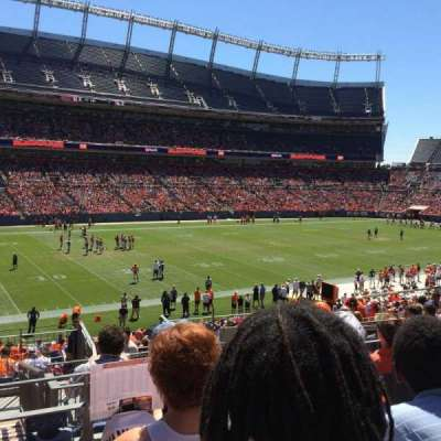 Empower Field at Mile High Stadium section 108