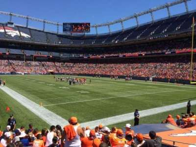 Empower Field at Mile High Stadium section 135