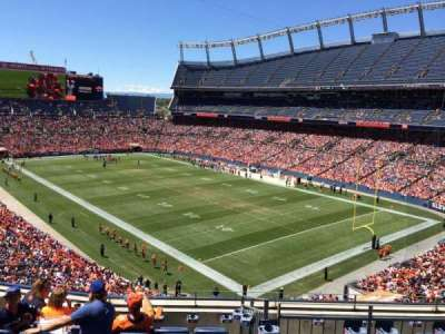 Empower Field at Mile High Stadium section 328
