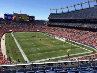 Empower Field at Mile High Stadium section 326