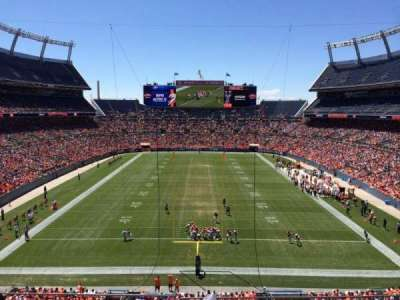 Empower Field at Mile High Stadium section 323