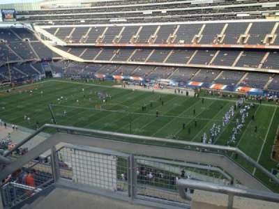 Soldier Field, section: 432, rangée: 2, siège: 1