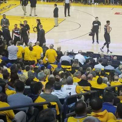 Oakland Arena section 128