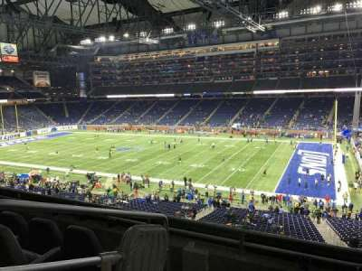Ford Field section 234